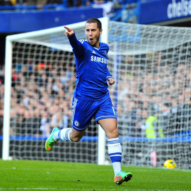 One of the Premier League's hottest players, Eden Hazard scored his first #Chelsea hat-trick against Newcastle.