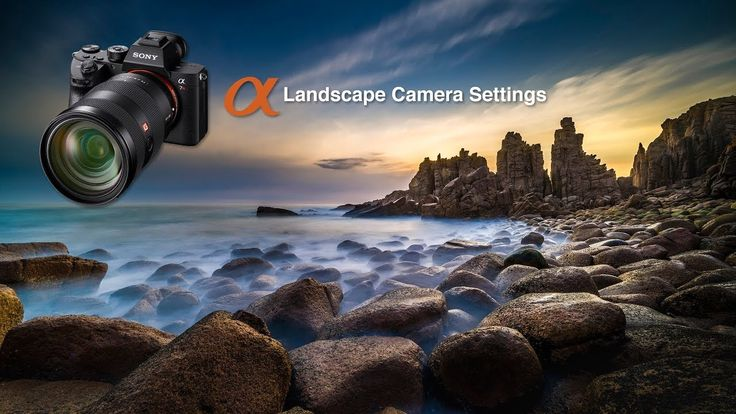 Set up and Save the optimum custom camera settings for Landscape Photography when using a Sony Alpha A7RIII camera