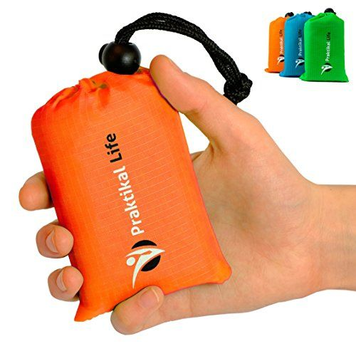 Mini Pocket Outdoor Blanket  Groud  Seat Cover Made From Premium Soft and Lightweight Waterproof Material Ideal for Traveling  Hiking  Cycling with Practical Pouch Orange * Details can be found by clicking on the image.Note:It is affiliate link to Amazon.