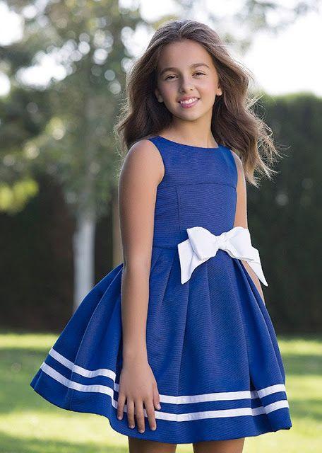 Los vestidos marineros siempre de moda !!!