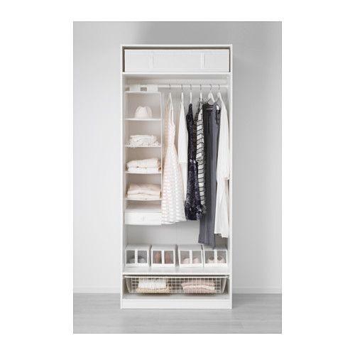 PAX Garderob - mjukstängande gångjärn, 100x60x236 cm - IKEA