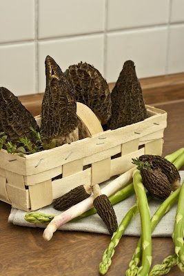 Annetts culinary diary: asparagus morel ragout of beef with potatoes ...