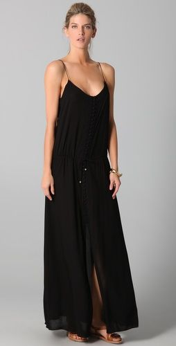 Solid Bliss Long Dress