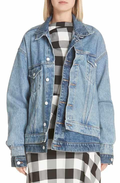 9a957057e7ce3 Monse Double Layered Denim Jacket Best Reviews in 2019