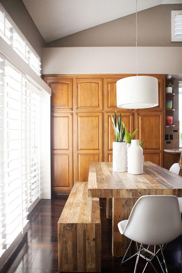 West Elm Emerson Table And Bench In Kailee Wright S Dining