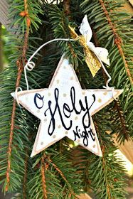 Remodelando la Casa: 10 Farmhouse Christmas Ornaments