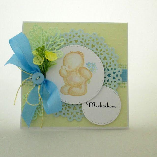 Hand-Crafted by Gabi M.: {FOR KIDS} Personalizované přání pro Michalka