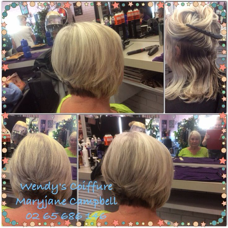 3/4 head of foils, style cut, treatment and blow dry!