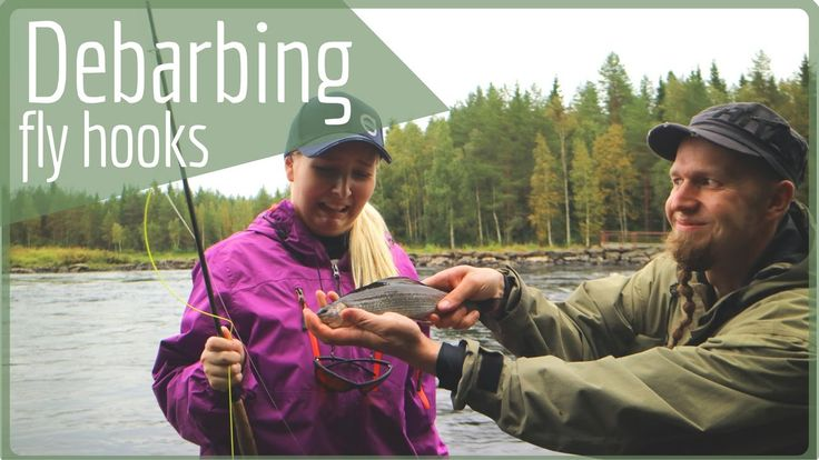 Catch Release and Barbless Hooks