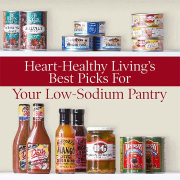 Foods for a Low-Sodium Pantry