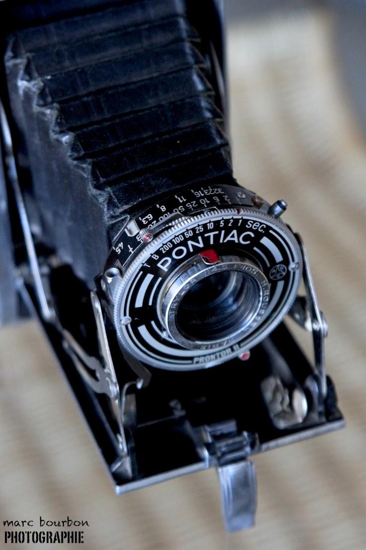 MFAP PONTIAC Bloc métal 45  6x9 cm folding camera lens H.ROUSSEL 105 mm f:4,5