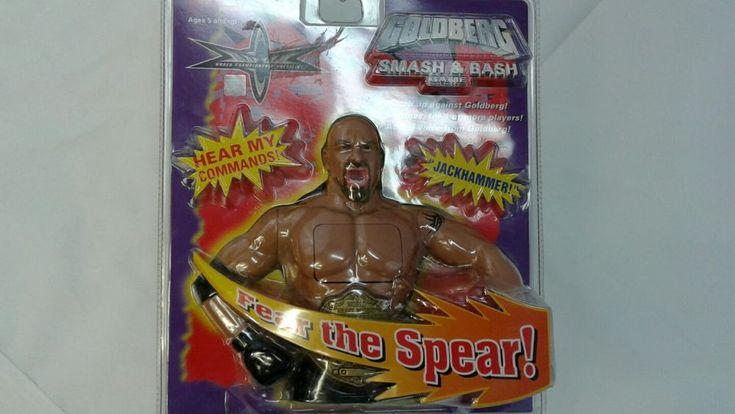 New World Championship Wrestling Goldberg Smash & Bash Game #11 | Toys & Hobbies, Games, Electronic Games | eBay!