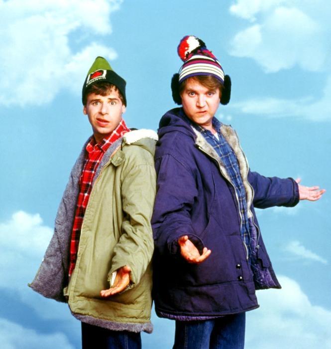 "Rick Moranis and Dave Thomas from ""Strange Brew"" (1983). Frederick Alan Moranis born April 18, 1953, yet another Toronto born actor."