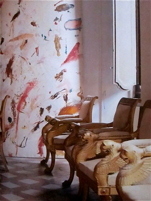 Cy Twombly apartment in Rome photographed by Horst
