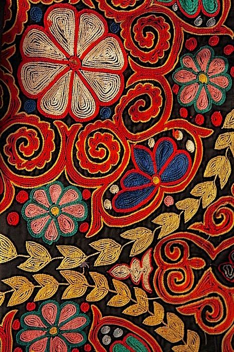 A beautiful piece of embroidery