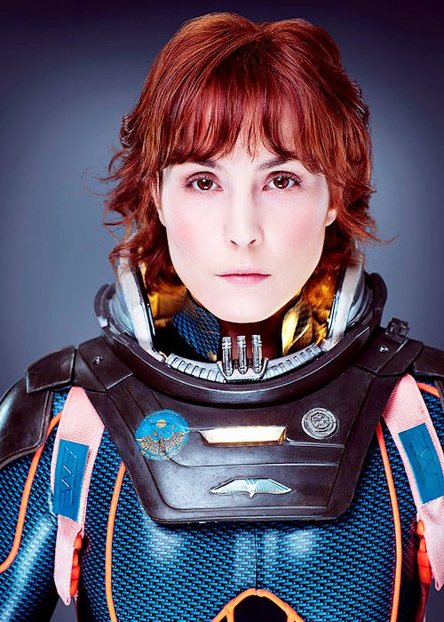 Noomi Rapace as Dr. Elizabeth Shaw from the movie Prometheus