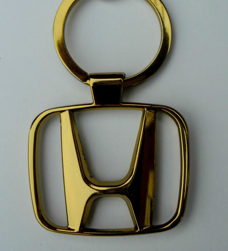 KCGOLD.ELE Gold Teardrop Upgrade Your Auto Au-TOMOTIVE Gold Compatible Keychain and Keyring for Honda Element