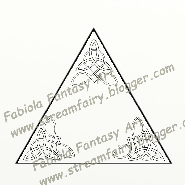 Fantart: Extra fast delivery: a celtic knot ordered and dra...