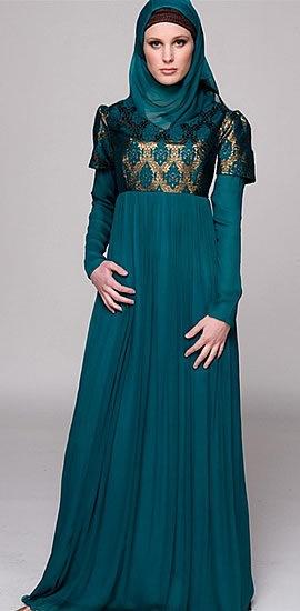 Formal Beaded Jilbab By DressArabia.com