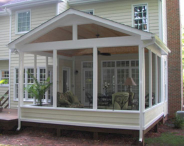 Do It Yourself Home Design: Wonderful Screened In Porch And Deck: 119 Best Design