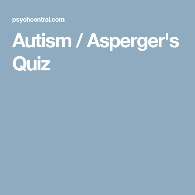 ideas about Aspergers Quiz on Pinterest   Aspergers test     Discover whether you suffer from autism or Asperger     s with this quick screening online test