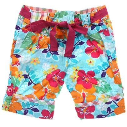 Girls Blue Butterfly Shorts-M2813-Butterfly $14.00 on Ozsale.com.au