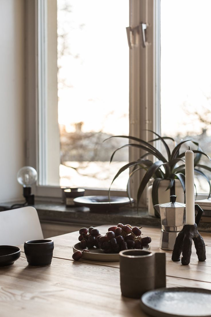 Dinner table. Scandinavian interior. Fantastic Frank Real Estate.