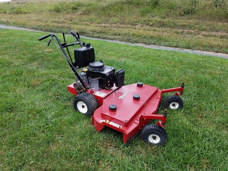 "Exmark 48"" Metro Walk Behind Commercial Lawn Mower Kawasaki Engine w/ New Tires  #Exmark"