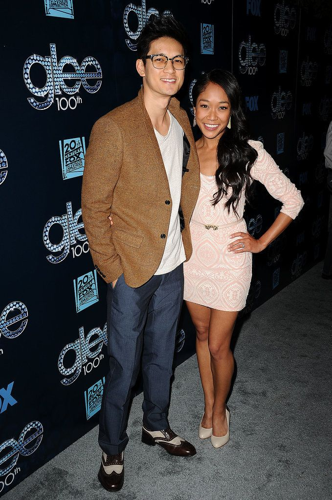 Harry Shum Jr and Shelby Rabara #100Episodes Party