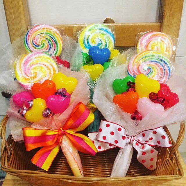 おいしくてカワイイ!プレゼントにキャンディブーケを作ってみませんか?