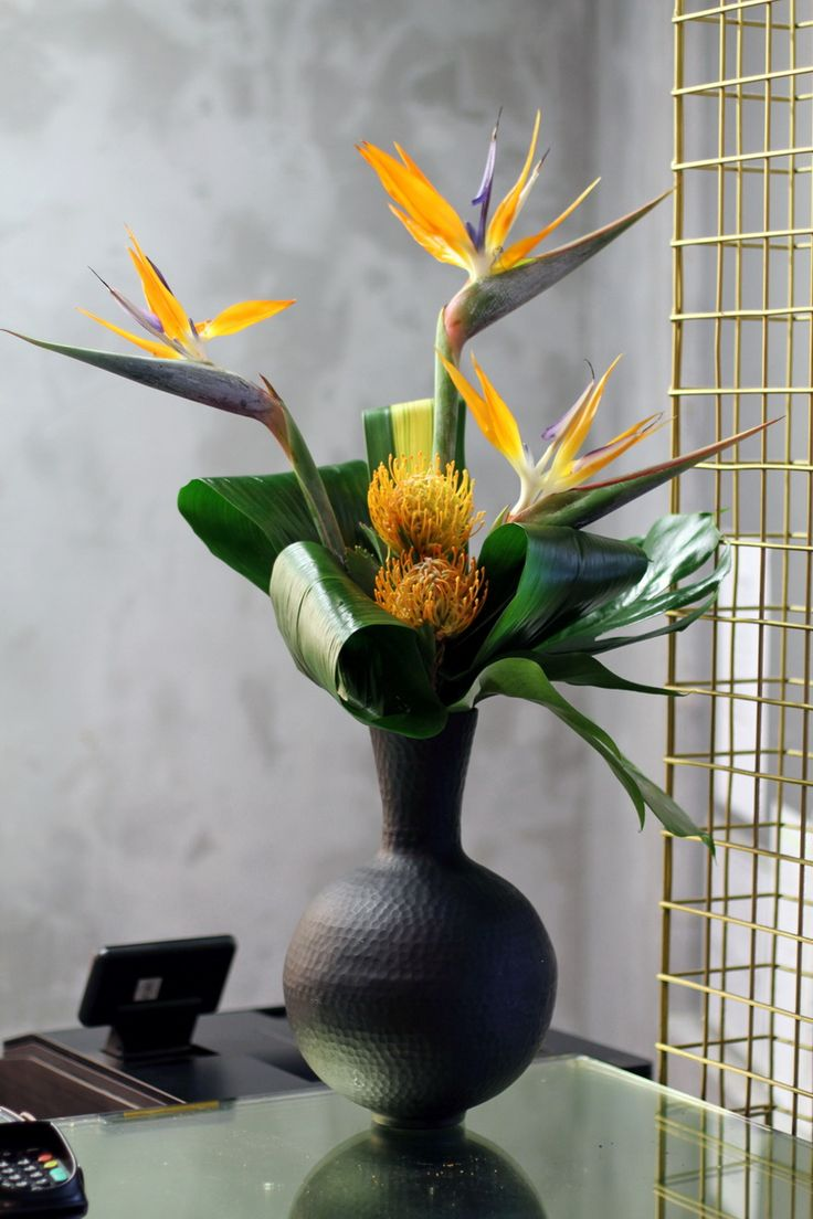 Brighten up the office with a Flowers24Hours summer flower arrangement for same day London deliveries