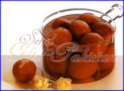 Send a tasty and mouth-watering Gulab Jaman gift to Pakistan.  One of the best ways of expressing your happiness is through gift-giving.  Whether it is a small family gathering or an auspicious wedding, a Gift that will add a touch of class to any occasion and leave a lasting impression on all who receive it. for more information http://www.send-gifts-to-pakistan.com/Eid_Gifts_to_Pakistan-Eid_Mithai_Box_to_Pakistan-03_2Kg_Gulab_Jaman.html