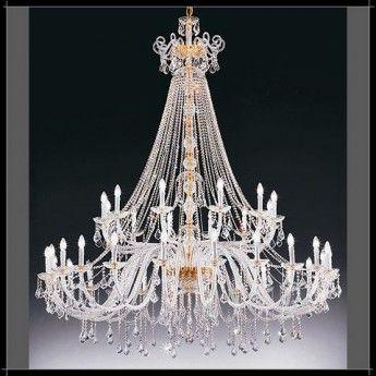 Klasyczna, kryształowa lampa wisząca z serii Dream - producent Voltolina. #Voltolina #włoskie_lampy #kryształowe_lampy #kryształ #cristal #modne_lampy #studio_oświetlenia_abanet #lampy_kraków #abanet_kraków