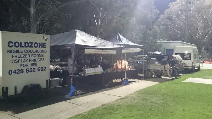Some of the food @ the Canberra Community Sleepout 2015
