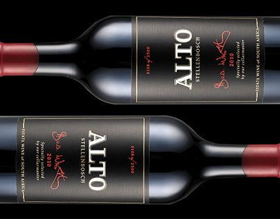 ALTO Wine Packaging | Bravo Design