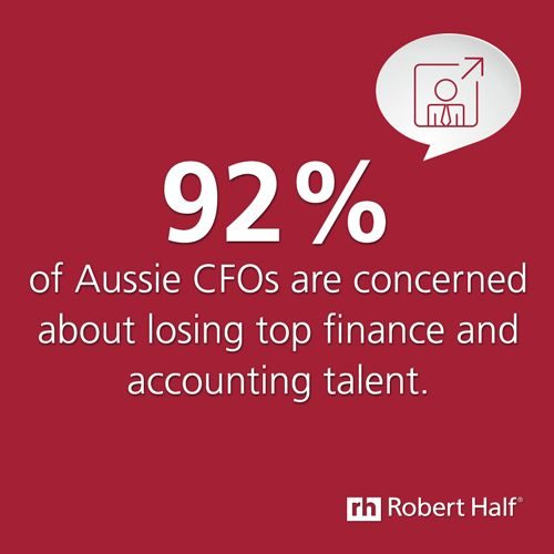 Are you concerned about losing #finance and #accounting #staff? For more insights, visit http://www.roberthalf.com.au/salary-guides