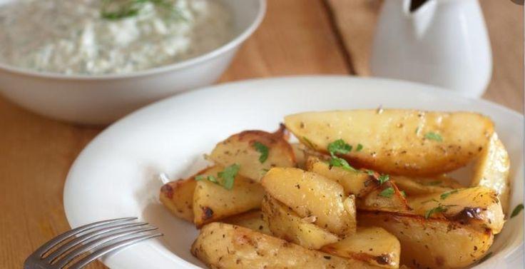 Pommes de terre à la grecque...un accompagnement qui fait plaisir - Recettes - Ma Fourchette