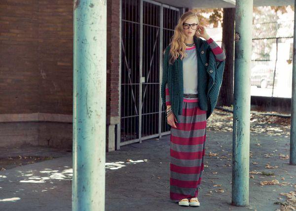 La collezione autunno - inverno 2012/2013 di Northland riporta al mondo dei college d'ispirazione vintage, e gioca con una palette di colori dalle tinte accese e mood trendy e accattivanti.
