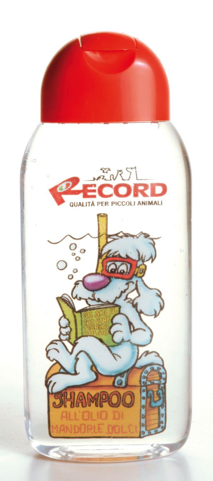 #Shampoo per cani #Record - al profumo di olio di mandorle dolci