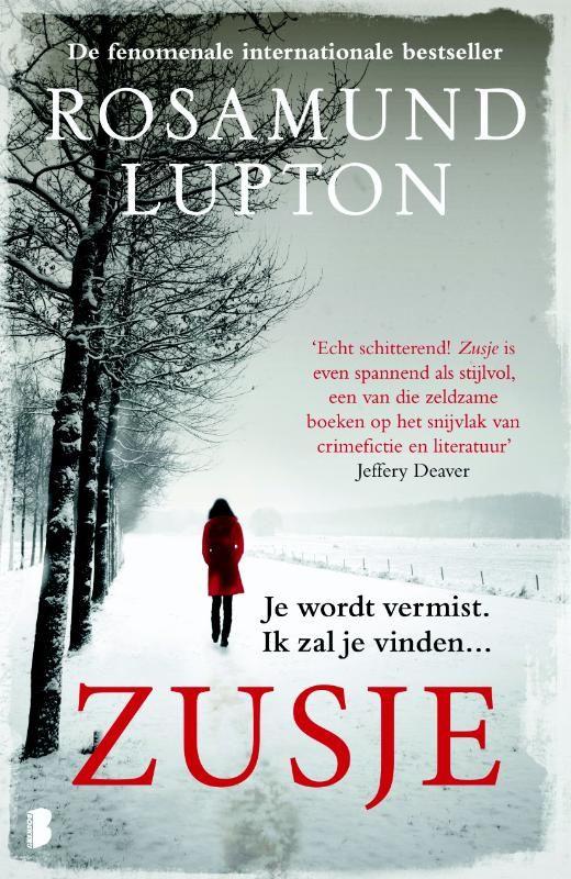 Zusje van Rosamund Lupton - ISBN 9789022565339