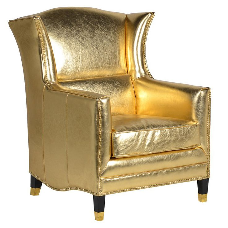 Goldfinger Leather Armchair