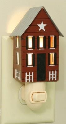 Amazoncom Mini Mason Jar Night Light in Rustic Brown