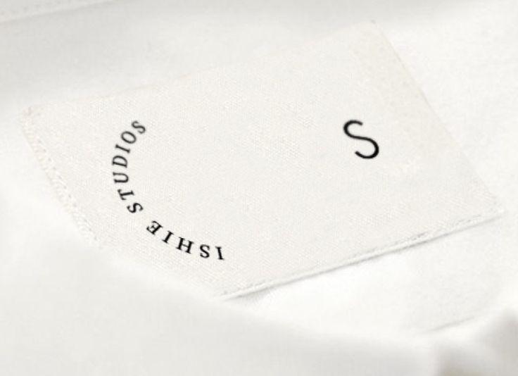 Ishie Studios Woven Label