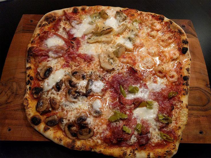 [Homemade] Pizza Quattro Stagioni (sort of) http://ift.tt/2ijqbiZ #TimBeta