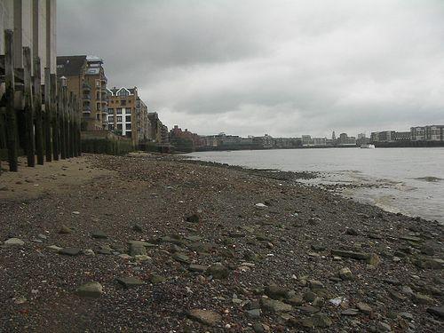 Wapping beaches, London