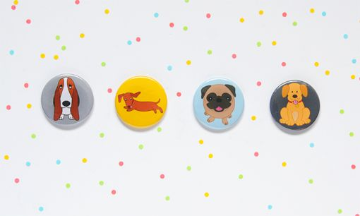 Dog Button Set