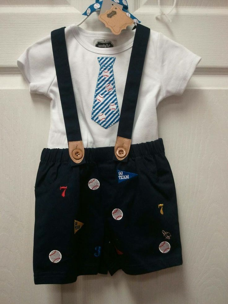 Terrific Tuesday SALE! MudPie Baseball Suspender Shorts. We have sizes 0-6M, 6-9M, 9-12m, & another 9-12M. Original price: $47. SALE PRICE: $30. Shipping & tax are EXTRA. To order, message your PayPal email address and we will send you an invoice. To use another credit card, call the store: 706-864-0046. Like and share this post and you will be entered into Bear Cub Gifts next $20 store card drawing. We offer lay-a-way. Thanks for supporting our small business. @swaddletoddle