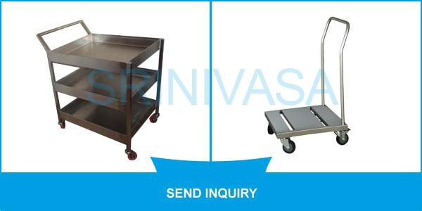 #SME: To manufacture our offered range of #Transport_Trolley, we have procured high-grade raw material from the most trusted vendors of the market. These Transport Trolley are highly durable and light weighted.