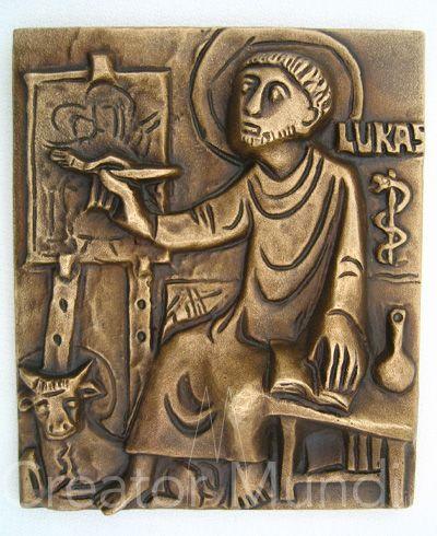 Saint Luke the Evangelist Plaque (medium)