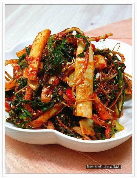 [오징어냉이초무침]~ 새콤달콤 향긋한 냉이초무침 만드는법 – 레시피   Daum 요리